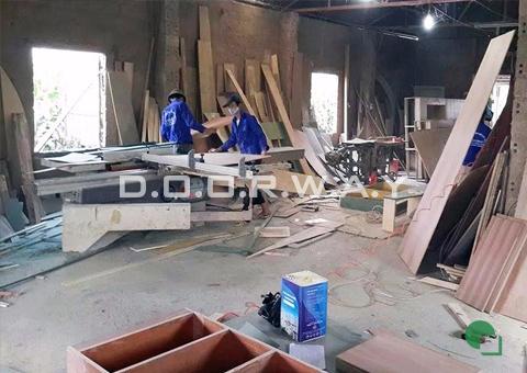 Xưởng sản xuất của doorway góc 05