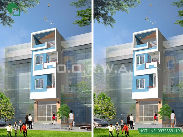 1- Mẫu thiết kế kiến trúc nhà ở, nhà phố, nhà ống, khách sạn, nhà hàng, quy hoạch,.. by kiến trúc Doorway