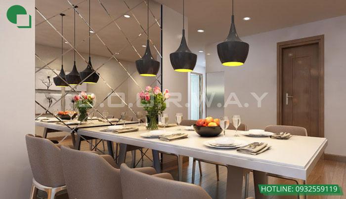1-thiết kế nội thất, thi công nội thất by kiến trúc Doorway, thiết kế nội thất chung cư Mandarin Garden 2