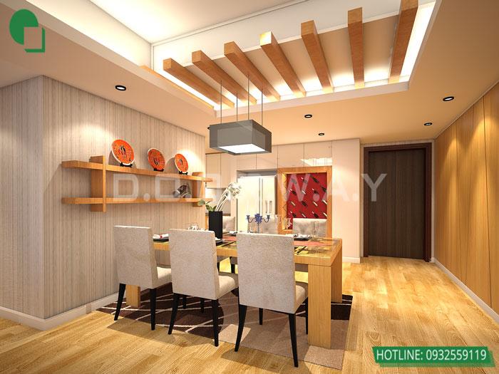 1-thiết kế nội thất, thi công nội thất by kiến trúc Doorway, thiết kế nội thất chung cư Dolphin Plaza