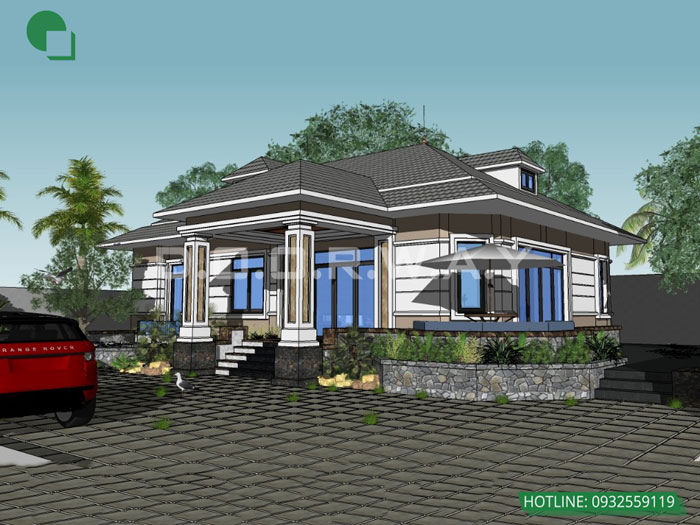 5- Mẫu thiết kế kiến trúc nhà ở, nhà phố, nhà ống, khách sạn, nhà hàng, quy hoạch,.. by kiến trúc Doorway