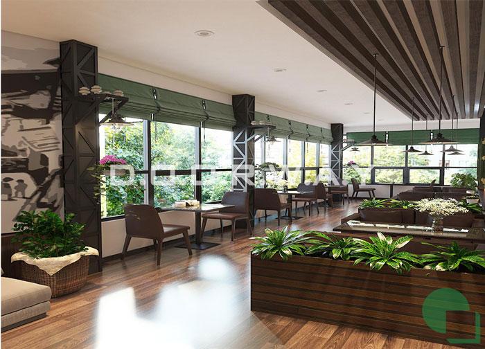 5-thiết kế nội thất, thi công nội thất by kiến trúc Doorway, thiết kế nội thất quán cafe