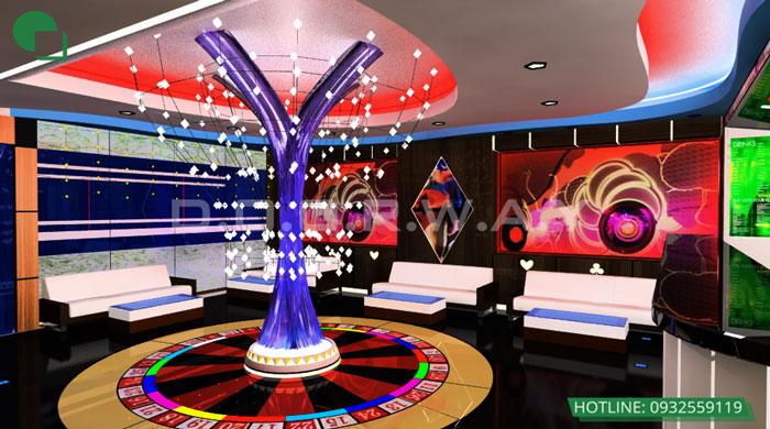 5-thiết kế nội thất, thi công nội thất by kiến trúc Doorway, thiết kế nội thất quán karaoke