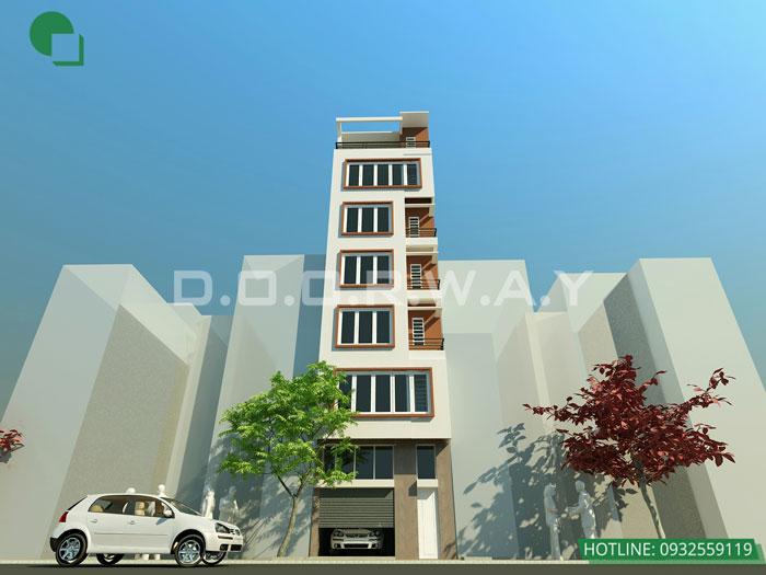 9- Mẫu thiết kế kiến trúc nhà ở, nhà phố, nhà ống, khách sạn, nhà hàng, quy hoạch,.. by kiến trúc Doorway