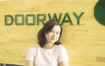 Giám đốc điều hành Lê Thị Thơm - kiến trúc Doorway