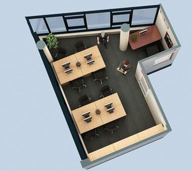 Thi công nội thất văn phòng công ty Hà Hùng by kiến trúc Doorway phòng họp 01 góc 01
