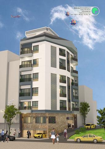 Thiết kế chung cư mini ở tây hồ mr chính by kiến trúc doorway góc 02