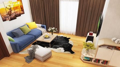 Bất ngờ với chi phí thiết kế nội thất chung cư giá rẻ lại bền đẹp