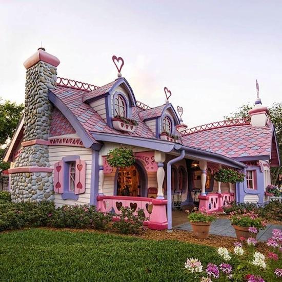 Những ngôi nhà đẹp trong mơ, nhà đẹp trong chuyện cổ tích, kiến trúc Doorway