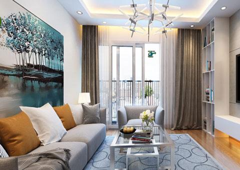 Thiết kế nội thất chung cư Mandarin Garden 2 c Hiên by kiến trúc Doorway góc 01
