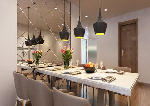 Thiết kế nội thất chung cư Mandarin Garden 2 c Hiên by kiến trúc Doorway góc 02