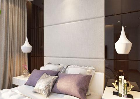 Thiết kế nội thất chung cư Mandarin Garden 2 c Hiên by kiến trúc Doorway góc 05