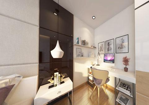 Thiết kế nội thất chung cư Mandarin Garden 2 c Hiên by kiến trúc Doorway góc 06