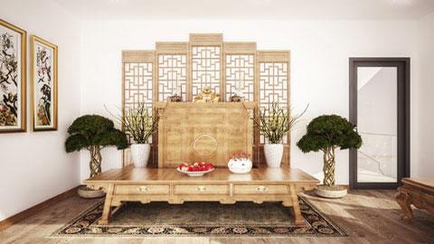 Top 5 mẫu thiết kế phòng thờ đẹp, tâm linh by kiến trúc Doorway st, ảnh tiêu biểu