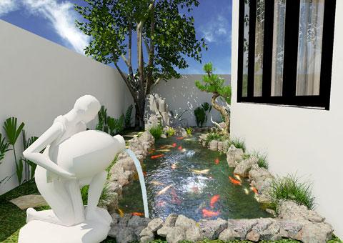 Thiết kế kiến trúc, kiến trúc sinh thái, by kiến trúc Doorway, dự án biệt thự chú Duy Ecopark