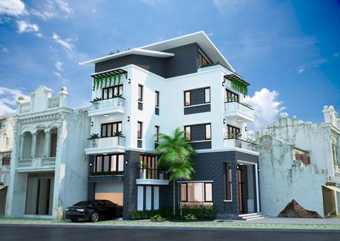 Thiết kế kiến trúc, kiến trúc sinh thái, by kiến trúc Doorway, dự án nhà Minh Sơn, Hải Dương