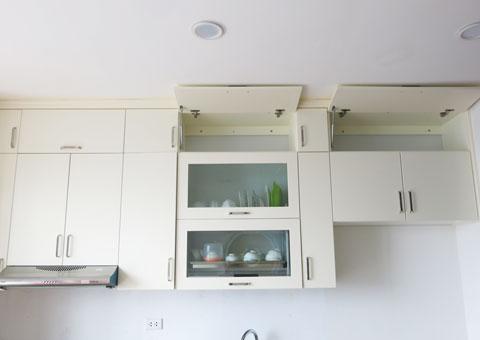 Nội thất chung cư 102 Trường Chinh 120m2 nhà anh Nam chị Bình by Kiến trúc Doorway phòng bếp góc 01