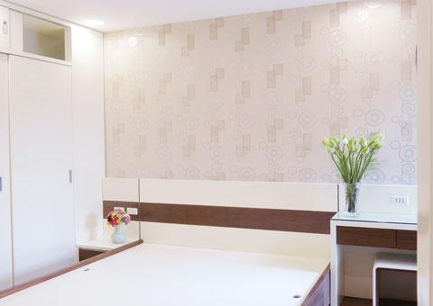 Nội thất chung cư 102 Trường Chinh 120m2 nhà anh Nam chị Bình by Kiến trúc Doorway phòng master góc 05