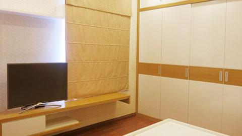 Thi công nội thất phòng ngủ chung cư Mễ Trì Hạ nhà anh Kiên by kiến trúc Doorway tủ áo ảnh tiêu biểu