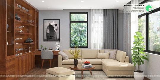 Thiết kế nội thất biệt thự 3 tầng 180m2 tại KĐT Việt Hưng nhà anh Tuấn by kiến trúc Doorway, ảnh tiêu biểu