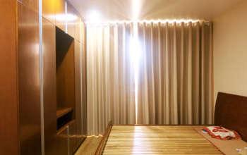 Thiết kế & thi công nội thất chung cư 95m2, chung cư Meco Complex 102 Trường Chinh nhà anh Thắng by kiến trúc Doorway phòng ngủ góc 03