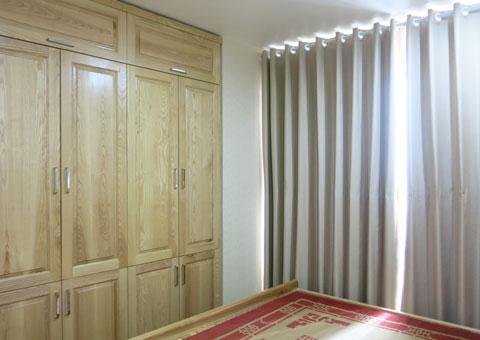 Thiết kế & thi công nội thất chung cư 95m2, chung cư Meco Complex 102 Trường Chinh nhà anh Thắng by kiến trúc Doorway phòng ngủ góc 09