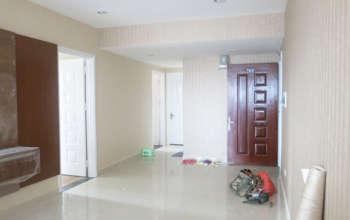 Thiết kế & thi công nội thất chung cư 95m2, chung cư Meco Complex 102 Trường Chinh nhà anh Thắng by kiến trúc Doorway thi công giấy dán tường góc 04
