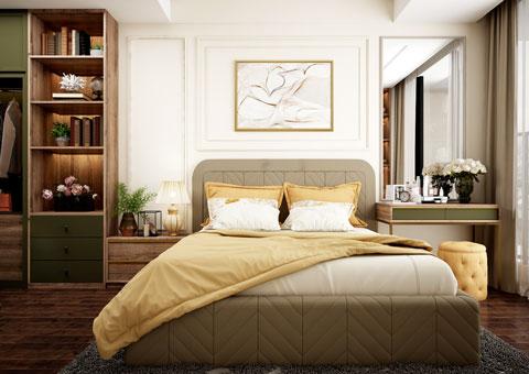 Thiết kế nội thất phòng cưới đẹp 1 phong cách Scandinavian by kiến trúc Doorway st 01