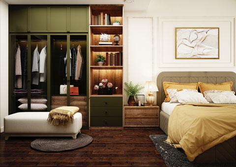 Thiết kế nội thất phòng cưới đẹp 1 phong cách Scandinavian by kiến trúc Doorway st 02