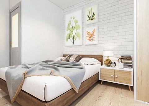 Thiết kế nội thất phòng cưới đẹp 1 phong cách đơn giản by kiến trúc Doorway st 01