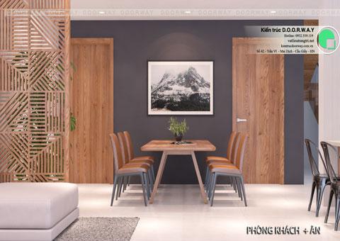 Thiết kế nội thất biệt thự cho thuê 600m2 tại FLC Sầm Sơn nhà anh Dương chị Liên, by kiến trúc Doorway, thiết kế phòng bếp góc 02