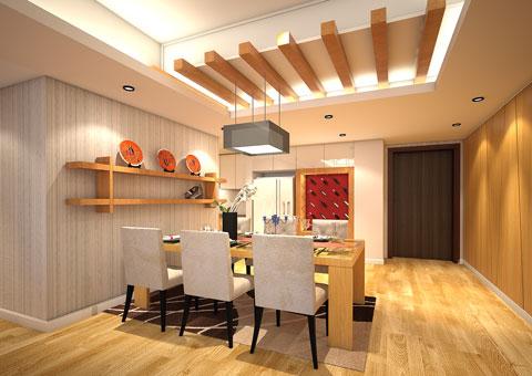 Thi công phòng bếp chung cư Dolphin Plaza nhà anh Tĩnh by kiến trúc Doorway, góc 01