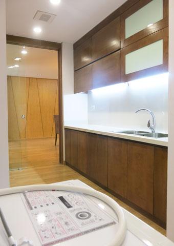 Thi công phòng bếp chung cư Dolphin Plaza nhà anh Tĩnh by kiến trúc Doorway, góc 04