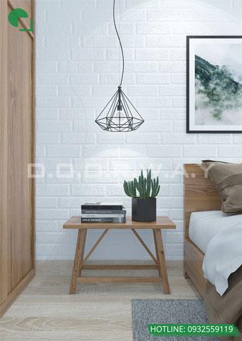Thiết kế nội thất phòng cưới phong cách Scandinavian nhà anh Dương by kiến trúc Doorway, góc 03