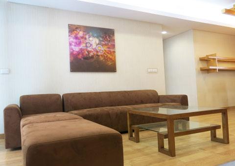 Thi công nội thất phòng khách nối liền phòng ăn 50m2 Mr Tĩnh chung cư Dolphin Plaza by kiến trúc Doorway, góc 05
