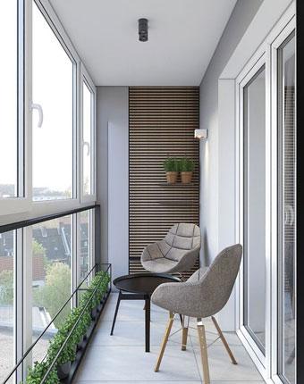 Thiết kế ban công đẹp by kiến trúc Doorway, góc 05