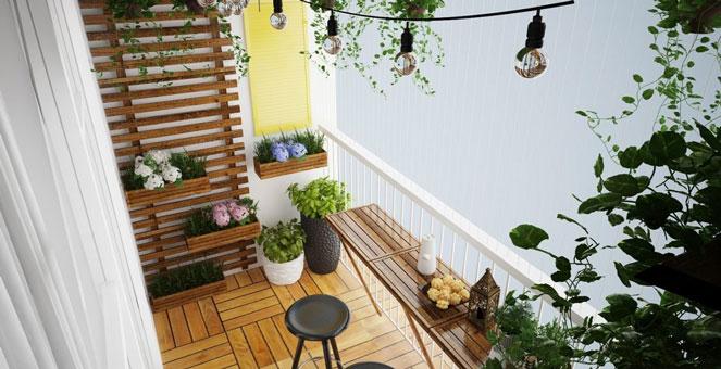 Thiết kế ban công đẹp by kiến trúc Doorway, góc 07