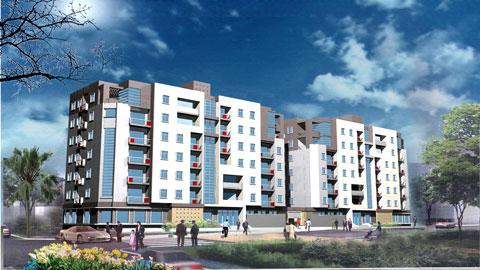 Thiết kế chung cư mini 7 tầng & 12 tầng đẹp - Chung cư Cầu Bươu by kiến trúc Doorway ảnh tiêu biểu