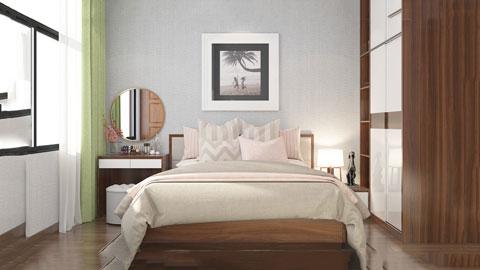 Trọn bộ nội thất phòng ngủ con gái gỗ HDF dưới 50 triệu by kiến trúc Doorway ảnh tiêu biểu