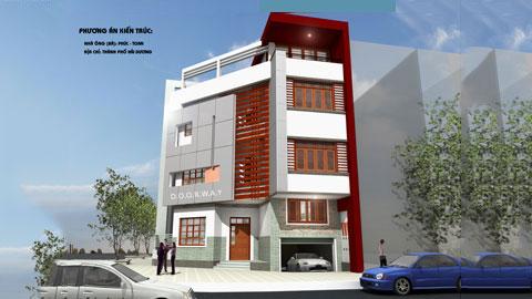 Thiết kế nhà phố 3 tầng 2 mặt tiền 116m2 - Mr Phúc Toan by kiến trúc Doorway ảnh tiêu biểu