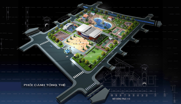 Thiết kế kiến trúc quy hoạch khu vui chơi giải trí tại Hải Dương by kiến trúc Doorway 01