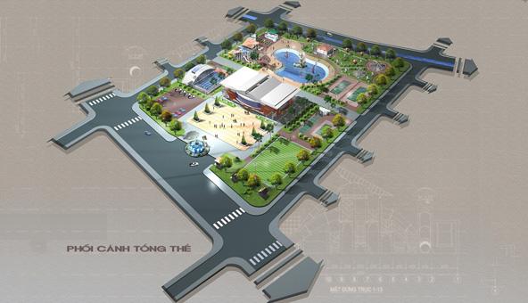 Thiết kế kiến trúc quy hoạch khu vui chơi giải trí tại Hải Dương by kiến trúc Doorway 02