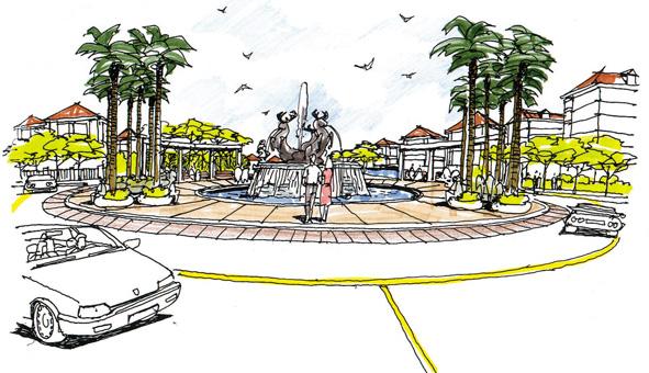 Thiết kế kiến trúc quy hoạch khu vui chơi giải trí tại Hải Dương by kiến trúc Doorway 04