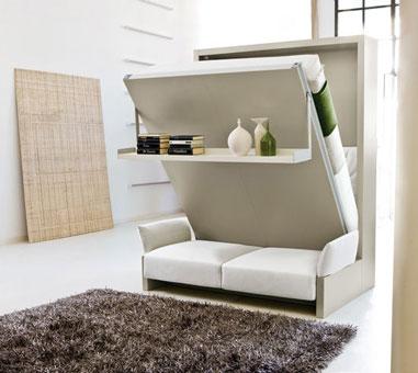 Bí quyết thiết kế căn hộ 40m2 với 2 phòng ngủ tiết kiệm diện tích by kiến trúc Doorway, đồ nội thất thông minh