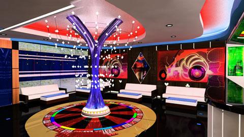 Thiết kế nội thất quán karaoke 120m2 Las Vegas Hà Nội by kiến trúc Doorway ảnh tiêu biểu
