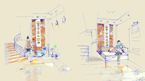 Thiết kế nhà 6 tầng mặt tiền 3,5m đẹp - Có mặt bằng chi tiết từng tầng by kiến trúc Doorway ảnh tiêu biểu