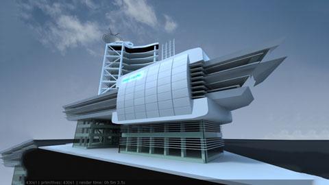 Mẫu thiết kế nhà văn phòng 7 tầng với diện tích 4500m2 đẹp, hiện đại by kiến trúc Doorway ảnh tiêu biểu