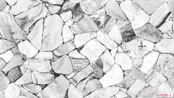 Tổng hợp những mẫu giấy dán tường đơn sắc trở thành xu hướng 2019 by kiến trúc Doorway, mẫu giấy dán tường đơn sắc giả đá Natural mã 87028-1