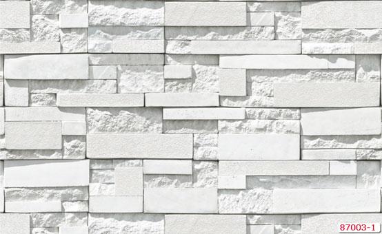 Tổng hợp những mẫu giấy dán tường đơn sắc trở thành xu hướng 2019 by kiến trúc Doorway, mẫu giấy dán tường đơn sắc giả gạch Natural mã 87003-1