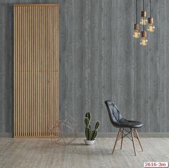 Tổng hợp những mẫu giấy dán tường đơn sắc trở thành xu hướng 2019 by kiến trúc Doorway, mẫu giấy dán tường đơn sắc giả gỗ Plenus mã 2616-3m